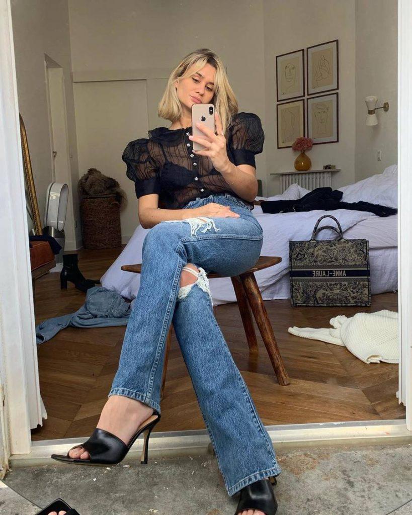 looks com jeans 2021 tendencia
