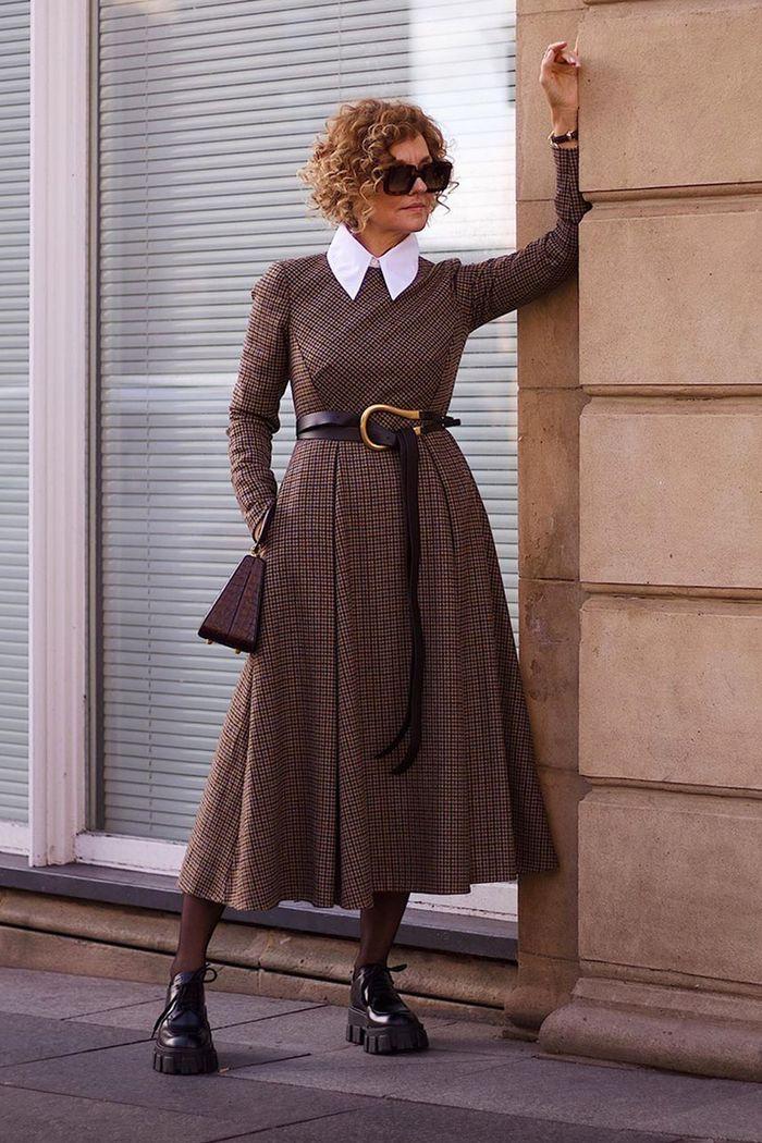 vestidos de inverno tweed
